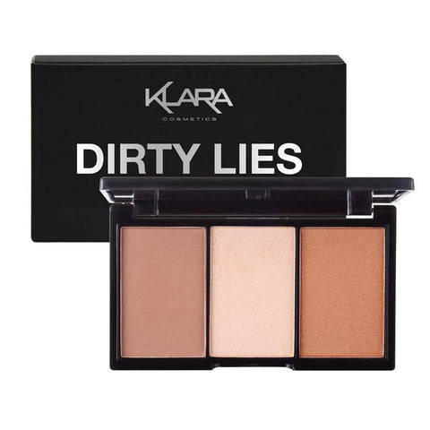 Dirty Lies  - Contour, Bronze, Blush Highlight