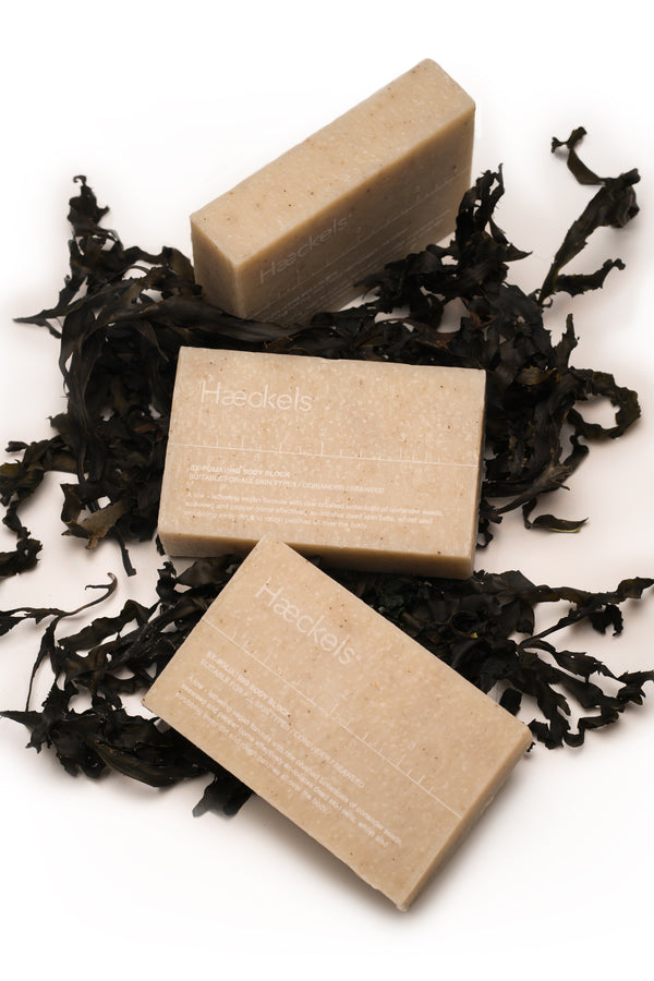 Exfoliating seaweed Soap Block, 320g