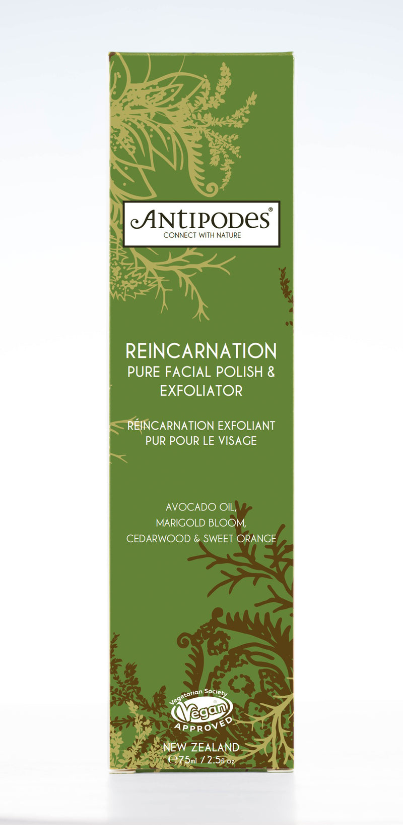 Reincarnation Pure Facial Polish & Exfoliator, 75ml
