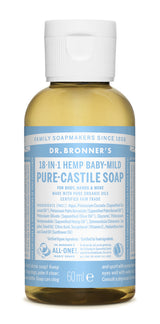 PURE-CASTILE LIQUID SOAP Baby unscented, 237ml