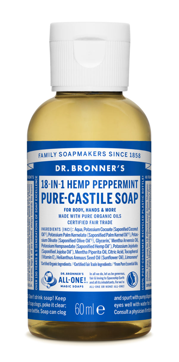 PURE-CASTILE LIQUID SOAP Baby unscented, 59ml