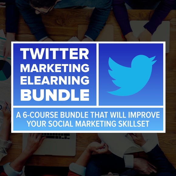 Twitter Marketing eLearning Bundle