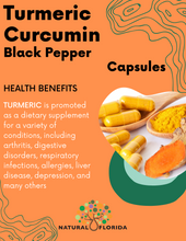 Load image into Gallery viewer, Turmeric Curcumin with Black Pepper 90 Vegan Capsules