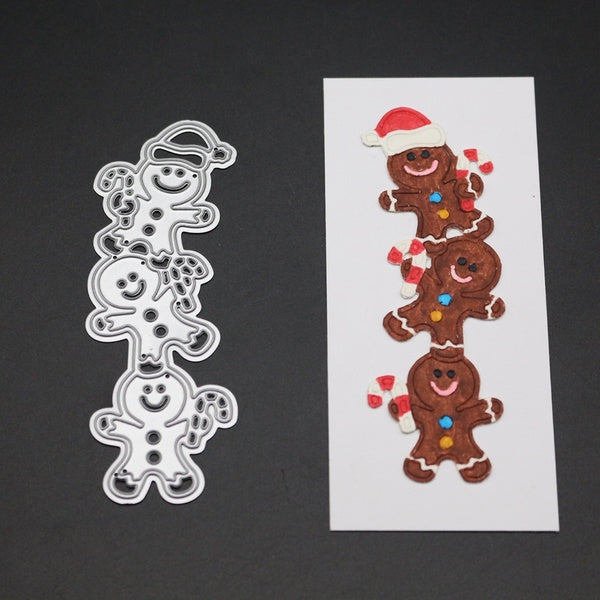 Cute Bear Metal Cutting Dies Stencil for DIY Scrapbooking Photo Album Embossing Paper Cards Decorative Crafts