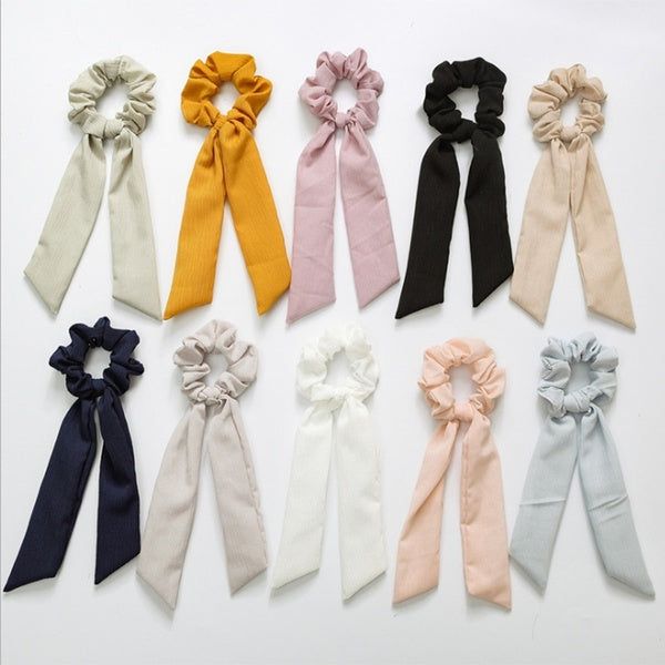 New Summer Fashion Hair Band for Women Tie Hair Bands Pure Color   Ornaments Woman Fashion Hair Bands Girl Hair Bands Leaf Hair Rings
