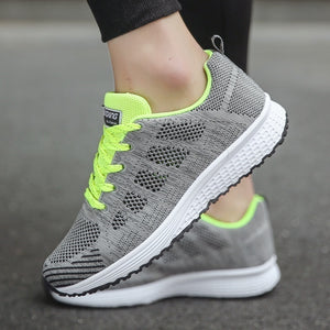 Fashion Women's Breathable Sports Sneakers Light Weight Casual Running Shoes