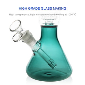 REANICE Glass Joint 14.5mm Pipes Bubblers for Smoking Recycler Tobacco Glass Water Recycler Hookah Pen