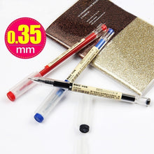Load image into Gallery viewer, 3 Pcs/Set MUJI Style 0.35mm/0.5mm Water-based Pen Gel Pen Black/Red/Blue Ink Pen Maker Pen School Office Supply