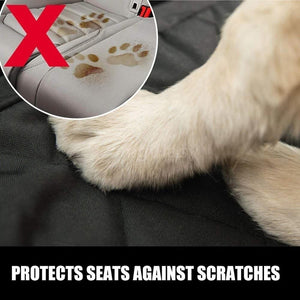 Dog Car Seat Covers for Cars Trucks and SUV Waterproof & Nonslip Standard Seat Cover Protector Oxford for Pets Contains gifts Pet Accessories