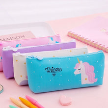 Load image into Gallery viewer, Unicorn Creative Large-Capacity Pencil Case Student Learning Stationery Pencil Bag Storage Bag