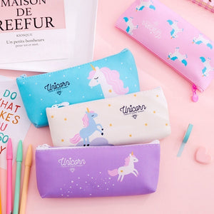 Unicorn Creative Large-Capacity Pencil Case Student Learning Stationery Pencil Bag Storage Bag