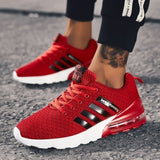 Fashion Men Sport Running Shoes Air Cushion Sneakers Brethable Outdoor Casual Walking Shoes Jogging Sneakers Size 39-46