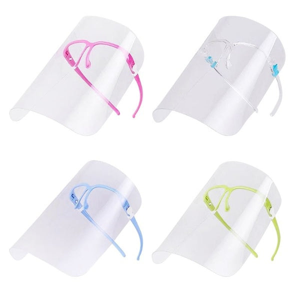 Creative Oil-Splash Proof Mask Cooking Transparent Face Protective Shield Kitchen Gadget Tool House Clean Dust Proof Mask RVY