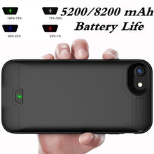 Load image into Gallery viewer, 2019 New Technology!!!2in1 Slim Portable High-capacity  External Battery Case Power Charger Charging Cover