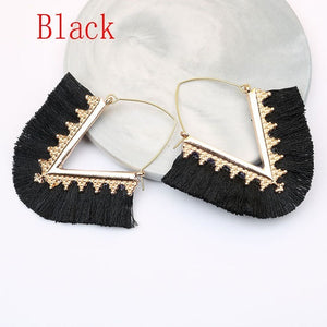 2019 Tassel Earrings for Women Drop Earrings Jewelry Earrings Fashion Jewelry Wedding Party Long Earrings Boucle D'oreille Femme