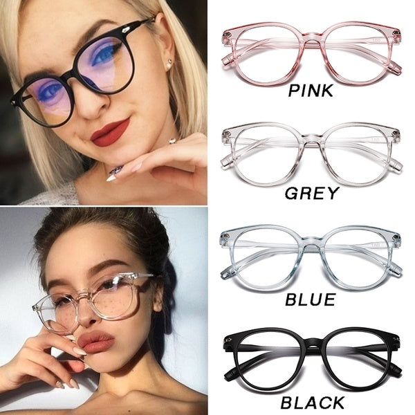 Fashion Unisex 1pc Glasses Frame Glasses Transparent Frame Clear Lens Men and Women Retro Flat Mirror