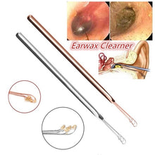 Load image into Gallery viewer, 1PC 3 Fork Earwax Remover Three Ring Ear Scoop Forceps Ear Clearners Ear Cleaning Stick