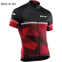 Load image into Gallery viewer, 2019 NW Northwave Men's Cycling Jerseys Short Sleeve Bike Shirts MTB Bicycle Jeresy Cycling Clothing Wear Ropa Maillot Ciclismo