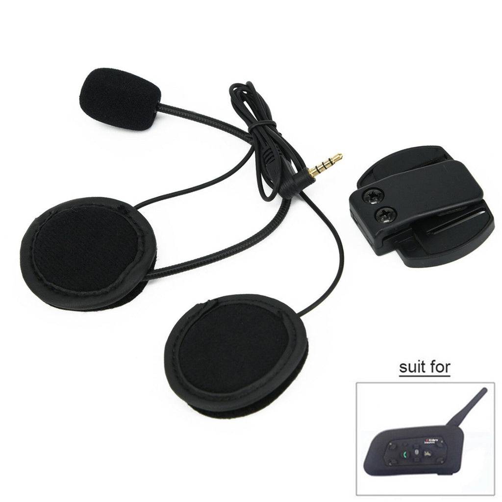 1200M bluetooth V6 BT Motorcycle Bike Helmet Intercom Headset For 6 Riders