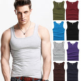 Tank Tops for Men | Men's Compression Tight Vest Slim Fit A-Shirts  | Workout Gym Undershirts