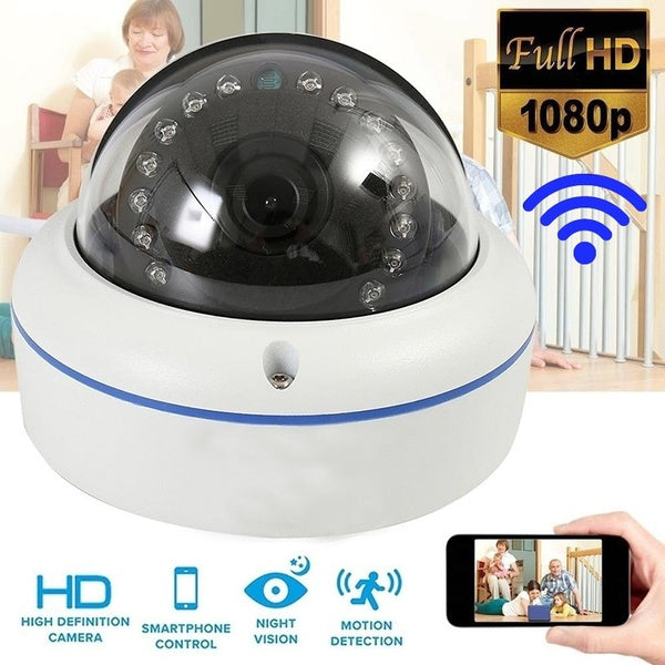 HD IP Camera 1080P/720P Wireless WiFi Waterproof SD Card Zoom Home/Outdoor IR Speed Dome Night Vision Security Monitor