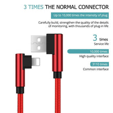 Load image into Gallery viewer, 1M/2M/3M Strong Long USB Fast Charger Data Cable Lead For/iPhone 5s 6 6s 7 8 x