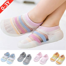Load image into Gallery viewer, Baby Summer Thin Ice Silk Non-slip Toddler Shoes Soft Sole Prewalkers
