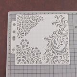 2/4PCS Stencils Template Wall Painting Scrapbooking Embossing Stamping Album DIY Scrapbooking Paper Craft Card  YO