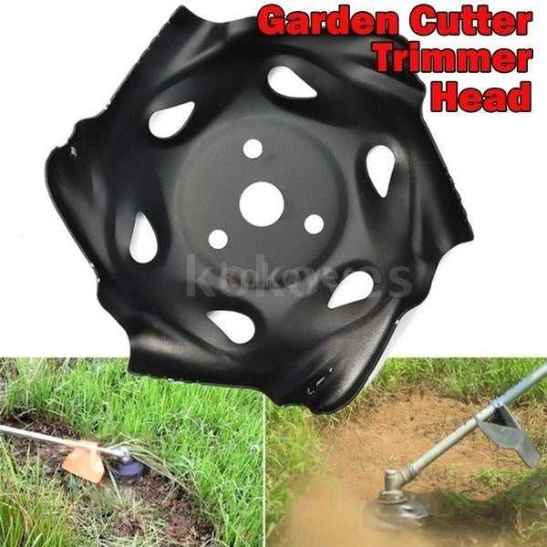 Creative Design Metal Garden Grass Mowing Lawnmower Weeding Tray Trimmer Head Part Accessory