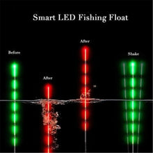 Load image into Gallery viewer, 1PC Smart Automatically Remind Fishing Float Night Luminous Fishing Floats Led Light Automatically Remind Fishing Float