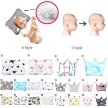 Load image into Gallery viewer, Baby Sleep Positioner Support Pillows Soft Infants Pillow Newborn Head Care Prevent Flat Head Anti Roll Pillow