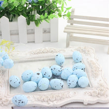 Load image into Gallery viewer, 30pcs/set Simulation Quail Eggs Plastic Foam Model Small Eggs Easter eggs for Scene Layout Decoration / Photographic Background Props.
