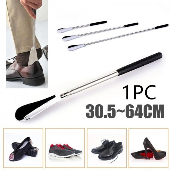 1PC Extra Long Shoe Horn Boot Shoes Lifter Remover Disability Mobility Handled Aid