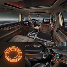 Load image into Gallery viewer, 4m Car LED Interior Ambient Light Decor Atmosphere Optical Fiber Lamp Door Light