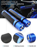 7/8'' Motorcycle Handle Bar Handlebar Grips & Ends 22mm Motor Racing Grips Motorbike Handlebar Grips Motorcycles Accessories Parts