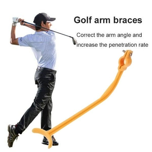 1 Pcs Practice Guide Golf Swing Trainer Beginner Alignment Golf Clubs Gesture Correct Wrist Training Aids Tools Golf Accessories