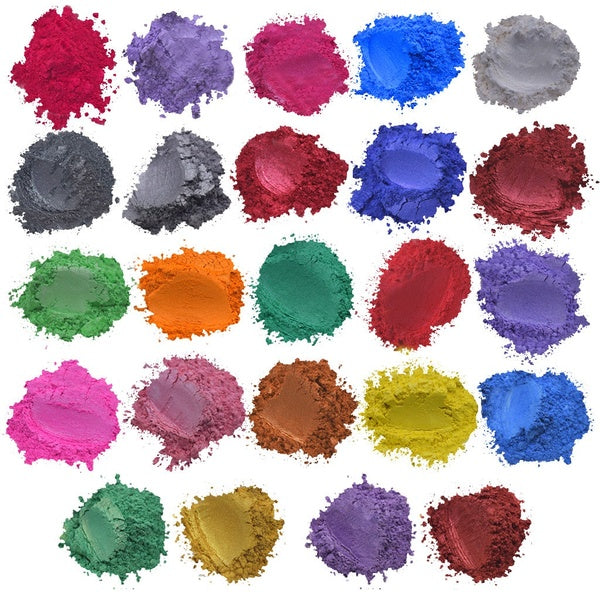Epoxide Resin Metallic 24colours x5g Soap Color Set Colour Pigment Powder Mica