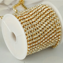 Load image into Gallery viewer, Gorgeous Mens Gold Tennis Chain Icy Diamonds Hip Hop Choker Chain Necklace Bling Jewelry