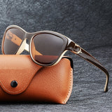 Luxury Brand Design Cat Eye Polarized Elegant Uv400 Protection Sunglasses Driving Eyewear Lunette Soleil Sonnenbrille