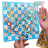 Family Game Snake Ladder Flight Chess Educational Kids Toys Parent-child Interactive Board Games