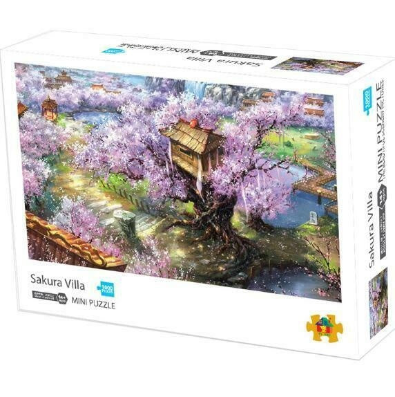1000 Piece Jigsaw Puzzle Landscapes Decompression Game Toy Difficulty 45X30 CM