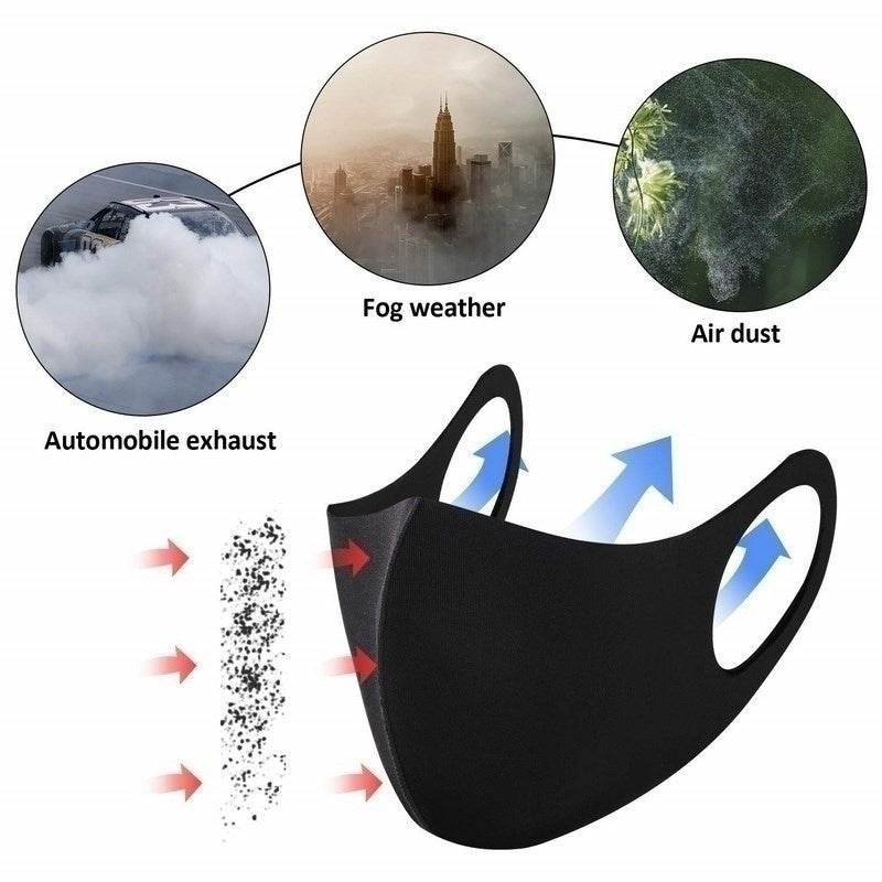 2020 New Sport Fashion Mask Dust Breathing Mask Activated Carbon Dust-proof Mask for Woodworking Mowing Running Cycling Outdoor Activities