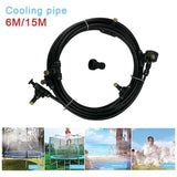 Children's Trampoline Sprinkler Durable Safe Multifunctional Water Cooling Pipe Toy for Outdoor Garden Yard Park