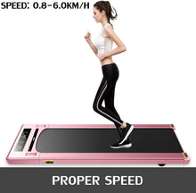 Load image into Gallery viewer, Popsport Smart UnderDesk Treadmill Smart Speed Control Ultra-Thin Treadmill Exercise App Treadmill Desktop Training Aerobics Equipment for Home Workouts, Jogging, Walking