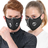 1Pcs Air Purifying Cycling Protective Mask Face Mask Face Cover Haze Fog Mouth Mask