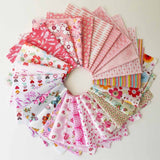 10pcs New Mix Cotton Fabric Material Quilting Fabric Cloth DIY Crafts Sewing