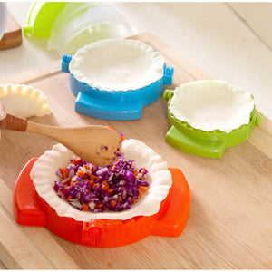 3pcsKitchen Tool DIY Dumpling Dumpling Maker Easy Dumpling Mold Kitchen Tool High Quality Dumpling Mold Clips Kitchen Accessories