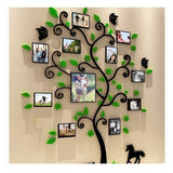 3D Photo Frame Tree Bedroom Living Room Wedding Room Romantic Wall Stickers (Without Photo Frame)