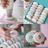 Nozzles Baking Tool Cake Decor Tips Sugarcraft Icing Russian Pastry Piping Sandwich Cookies DIY Decorating Flower