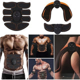 EMS Muscle Training Gear Remote Control Muscle Trainer Fat Burning Smart Body Building Fitness Kits(5 Style Can Choice)